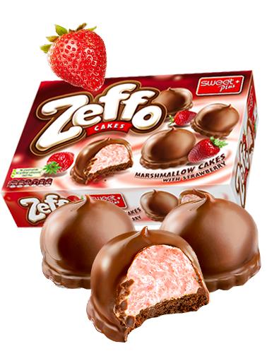 Pasteles Crema Marshmallows de Fresas y Chocolate 150 grs