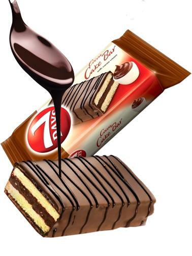 Pastelito de Chocolate y Crema de Cacao | Combini 7 Days 32 grs