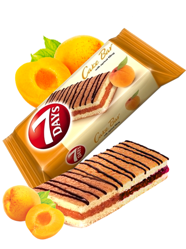 Pastelito de Mermelada de Albaricoque y Chocolate | Combini 7 Days 30 grs