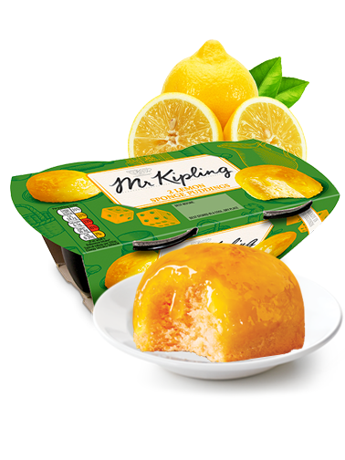 Puddings Bizcochados de Limón | Mr. Kipling | New Design
