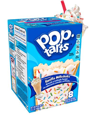 Pop Tarts Frosted de Batido de Vainilla