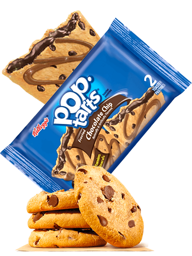 Pop Tarts Chocolate Chips | 2 Unidades
