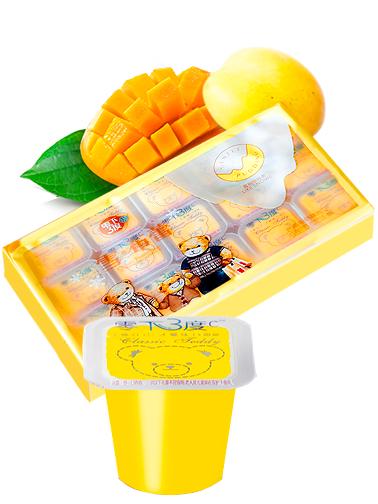 Pack Jelly Pudding | Sabor Mango | 15 Unidades