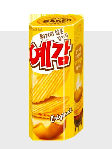 Chips Onduladas Asadas | Orion Corea