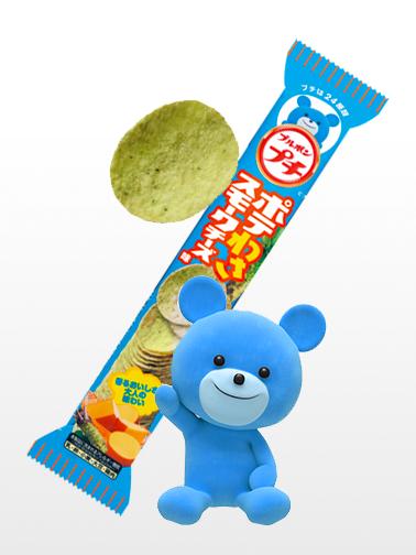 Chips de Wasabi y Queso | Petit Kuma