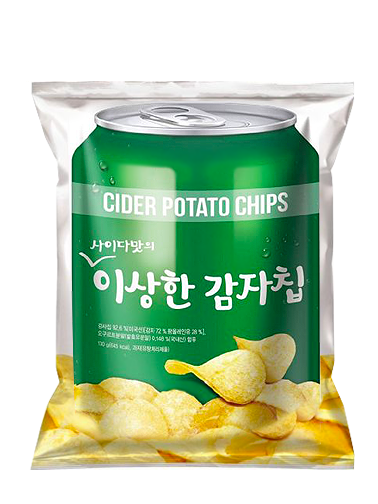 Chips Coreanas con Sabor a Soda | 130 grs