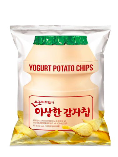 Chips Coreanas con Sabor a Yogurt | 130 grs