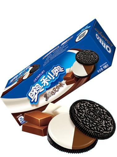 Oreo Doble Sabor Chocolate y Chocolate Blanco
