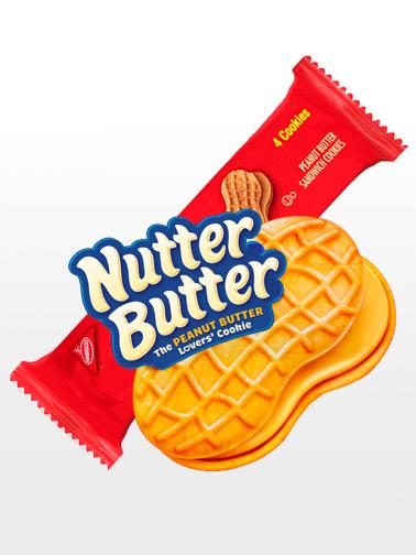 Galletas de Crema de Cacahuete | Nutter Butter | Pedido GRATIS!