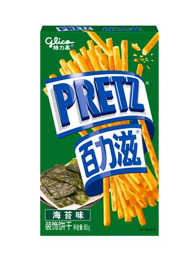 Sticks Pretz con Toppings de Nori Tostada con Shoyu