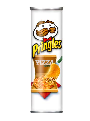 Pringles Genuine Sabor Pizza