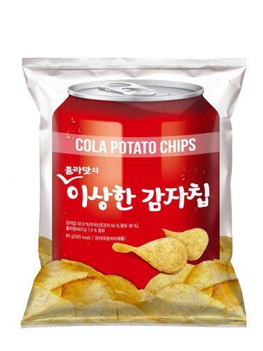 Chips Coreanas con Sabor a Refresco de Cola | 130 grs  | Pedido GRATIS!
