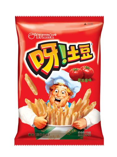 Snack Coreano de Patata Sabor Ketchup | Macaroni Gratin | Pedido GRATIS!