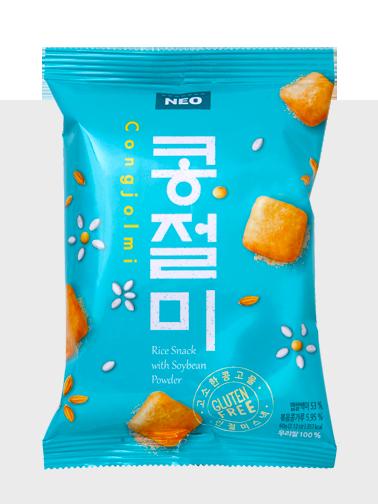 Snack Coreano de Arroz y Soja   Sin Gluten
