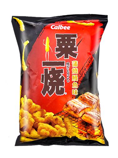 Snack estilo Cheetos al Grill Sabor Kabayaki | 80 grs.