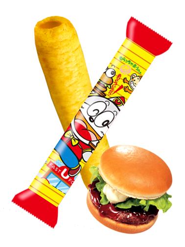 Snack Roll de Maiz Sabor Burger Teriyaki | Umai-Bo