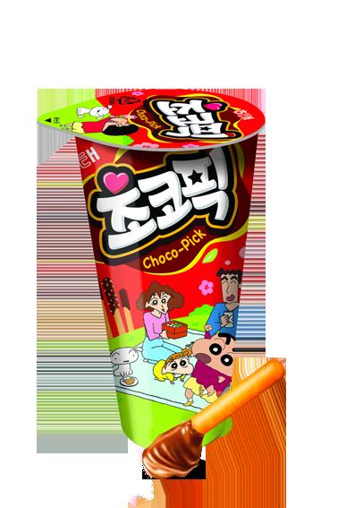 Sticks Cup de Crema de Chocolate | Chocobi Shin Chan