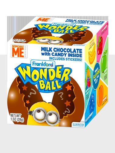 Huevo Sorpresa de Chocolate Minions contiene Caramelos