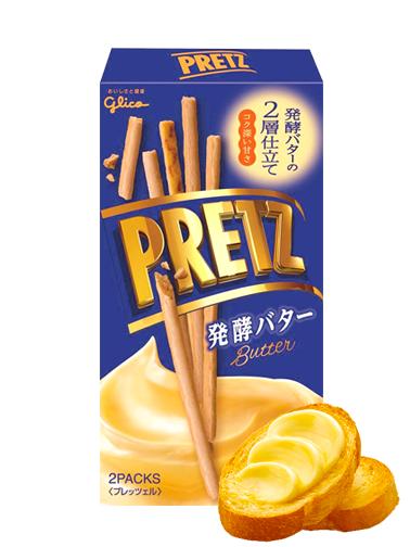 Sticks Pretz de Mantequilla de Crema Fresca 60 grs