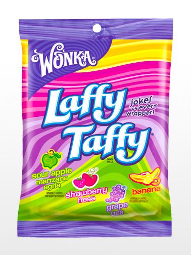 Surtido Caramelo Blando Wonka estilo Regaliz 4 Sabores | Laffy Taffy