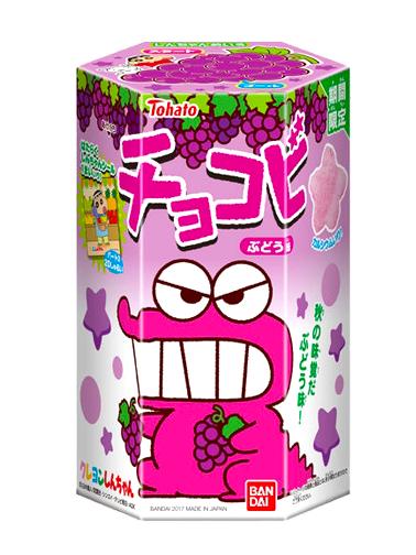 Galletas Snack Shin Chan Sabor Uva | Edit. Limitada