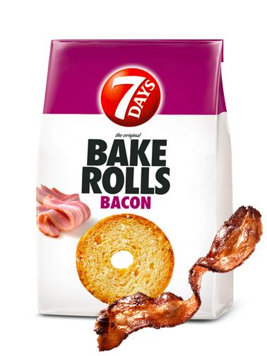 Chips de Pan Tostado con Sabor a Bacon 80 grs
