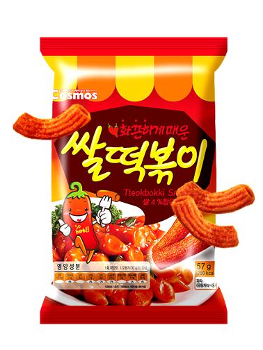 Snack Coreano Sabor Mochis Topokki | Big