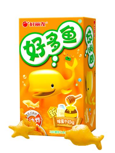 Snack Coreano Goraebap | Sabor Leche con Miel