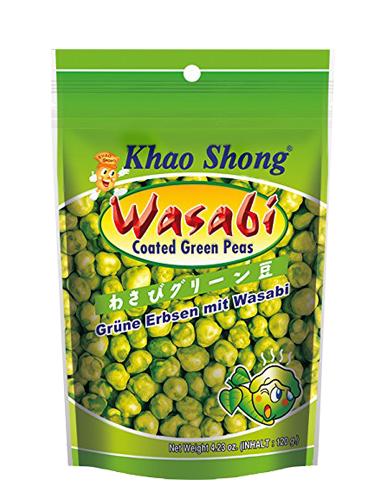 Guisantes Verdes Japoneses Sayaendo con Wasabi 120 grs