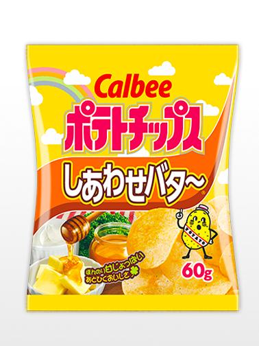 Patatas Chips Calbee con Miel, Mantequilla y Mascarpone