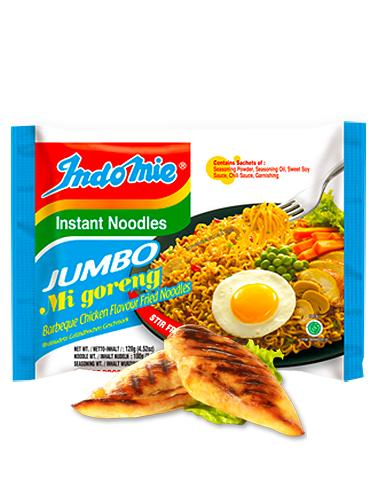 Tallarines Salteados Indomie Mi Goreng Jumbo | Chicken BBQ