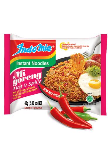 Tallarines Salteados Indomie Mi Goreng | Hot & Spicy
