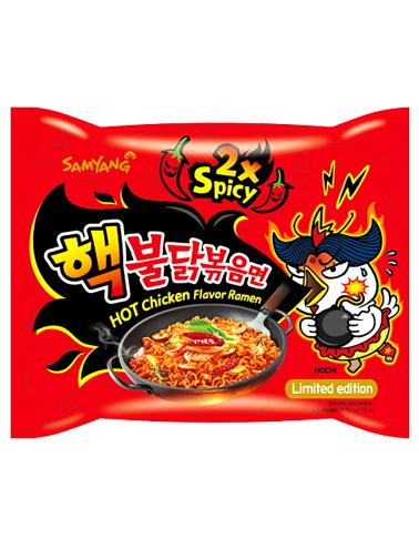 Ramen Coreano Salteado Wok ULTRA SUPER HOT Chicken | Bag