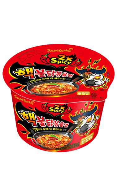 Ramen Coreano Salteado Wok ULTRA SUPER HOT Chicken | Bowl 105 grs