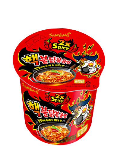 Ramen Coreano Salteado Wok ULTRA DOBLE HOT Chicken | Cup Edition