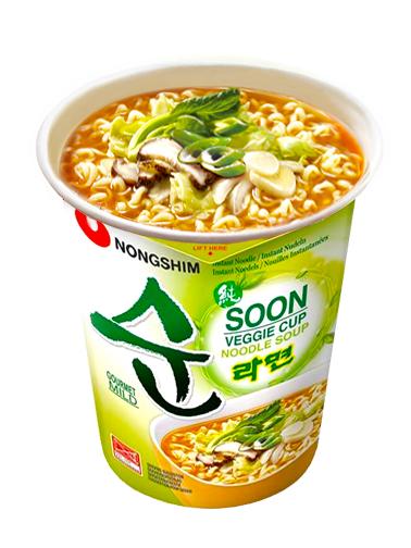 Fideos Ramen Coreanos Veggie Soon | Veganos | Cup Edit.