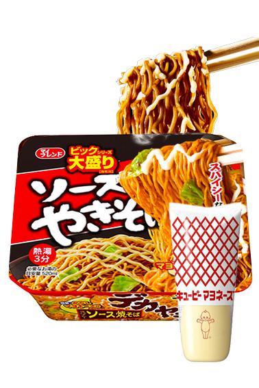 Fideos Yakisoba Daikoku con Mayonesa