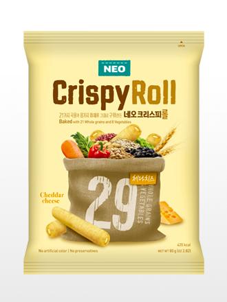 Crispy Rolls Coreanos rellenos de Crema de Cheddar