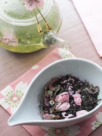 Té Verde con Flores de Cerezo | Sakura