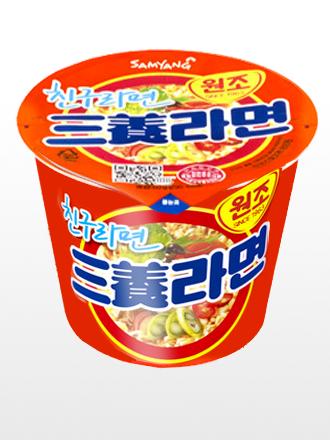 Ramen Coreano Samyang Ternera   Orange Bowl
