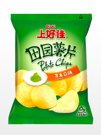 Patatas Chips al Wasabi