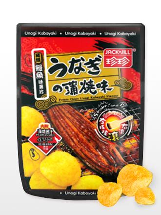 Patatas Chips Sabor Unagi con Salsa Kabayaki | Shake & Roll