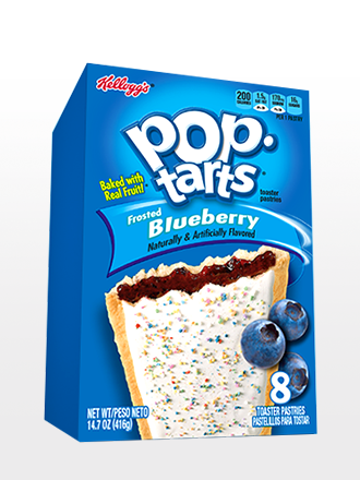 Pop Tarts Frosted Arándanos   8 Unidades
