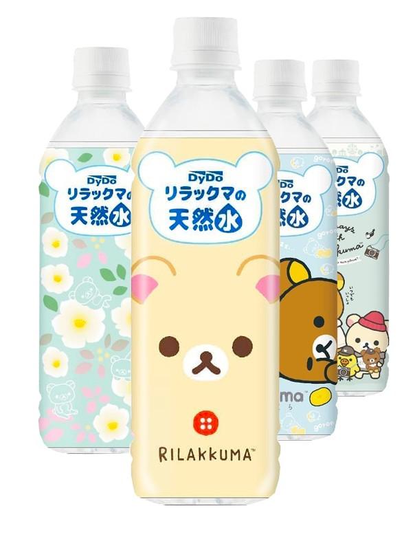 Agua Mineral Alpes Japoneses | Edición Rilakkuma | Nuevo Diseño 500 ml