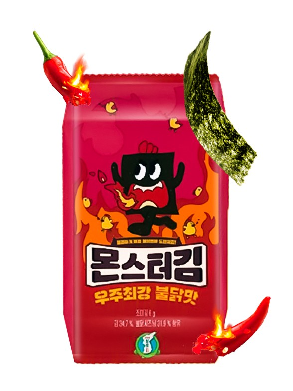 Algas Coreanas Buldak   Ultra Picante   6 grs.