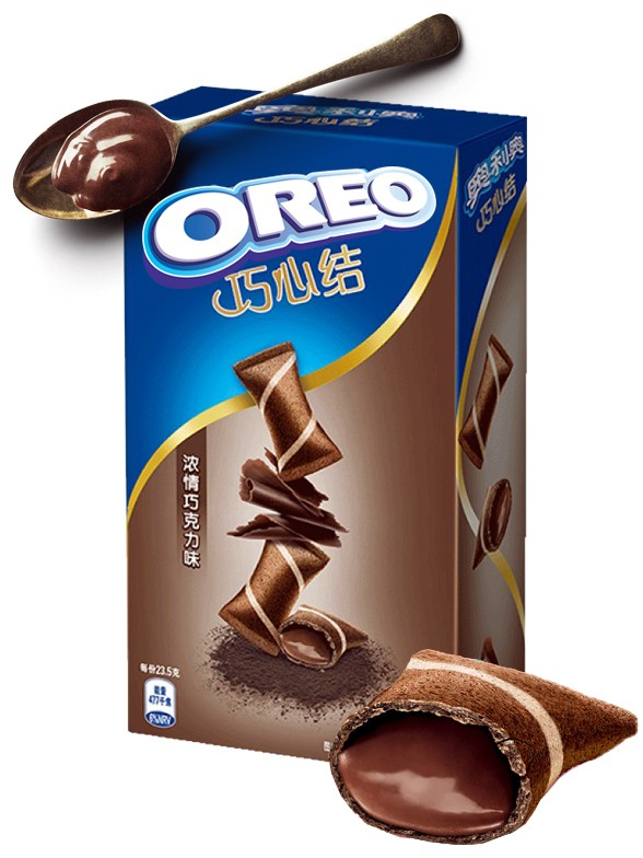 Mini Creps de Oreo rellenos de Chocolate 47 grs