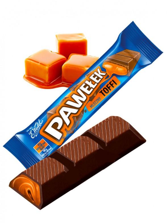 Chocolatina de Crema de Fondue de Toffe | Wedel Lotte 45 grs