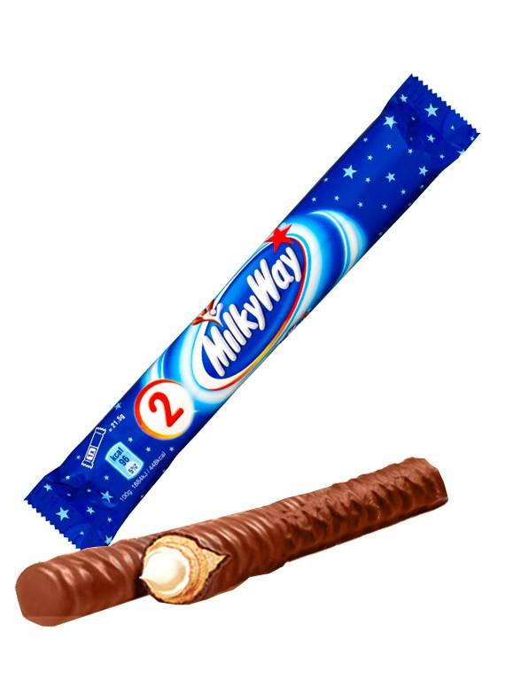 Chocolatina Milky Way Duo | 43 grs