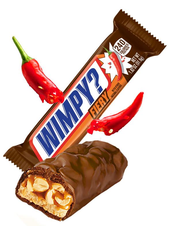Barrita de Chocolate Snickers  Fiery Picante 49 grs