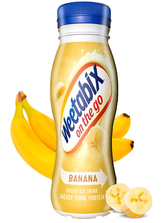 Batido de Banana Weetabix 250 ml.
